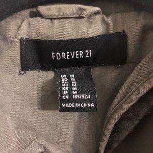 Forever 21 Jackets & Coats - Forever 21 military green jacket coat